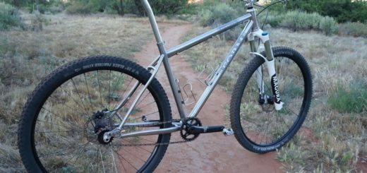 "Form Cycles titanium 29"" hardtail"