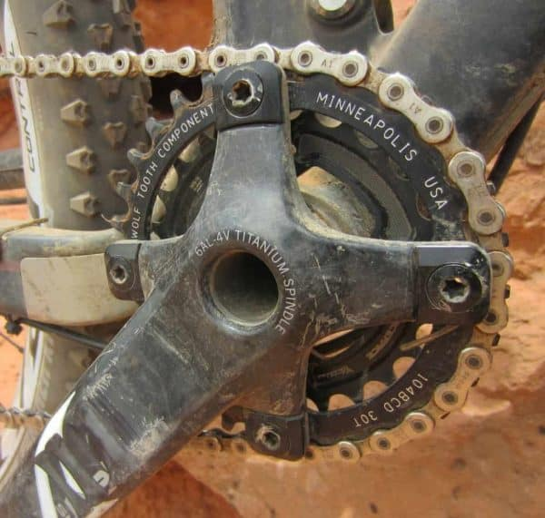 putting the chainring to the test