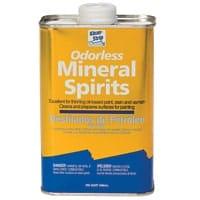Oderless mineral spirits