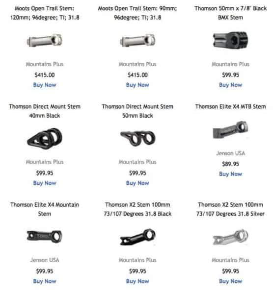 Made In The USA Mountain Bike Parts Store