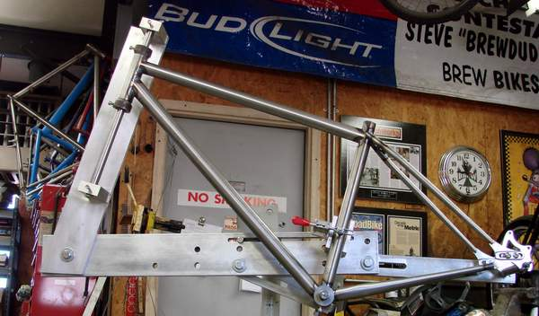custom Brew Racing frame