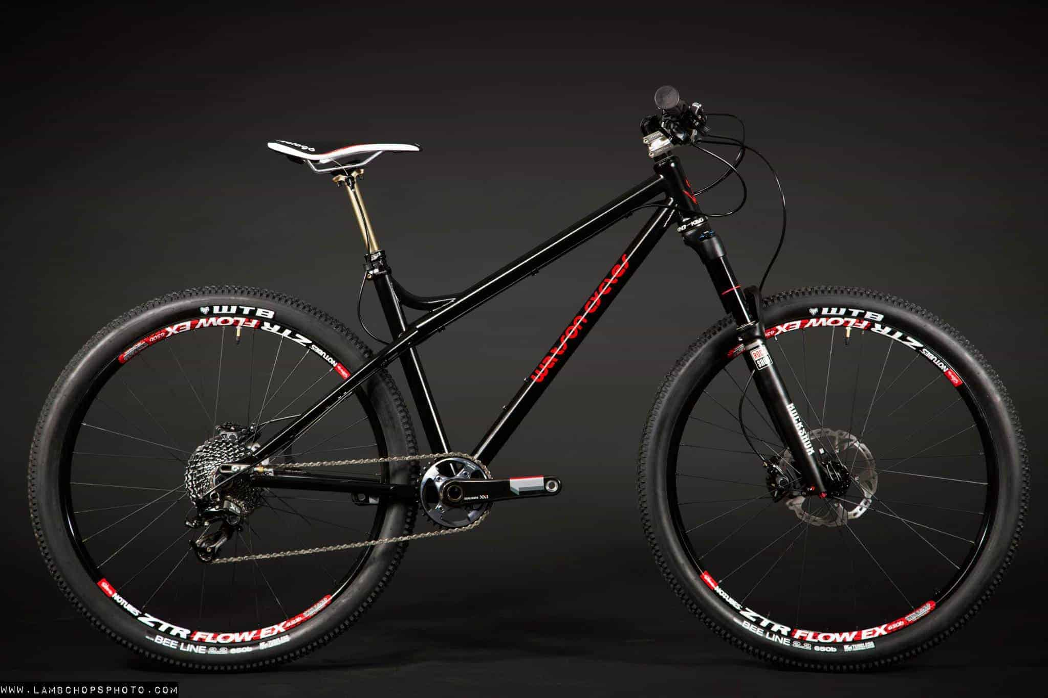 bike lust watson hardtail firefly ti 3x1 geekhouse. Black Bedroom Furniture Sets. Home Design Ideas