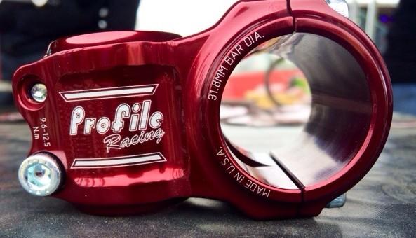 Profile Racing Helm mountain bike stem