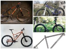 American mountain bike frame builder update
