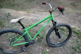 Hunter Cycles dirt jumper mountain bike
