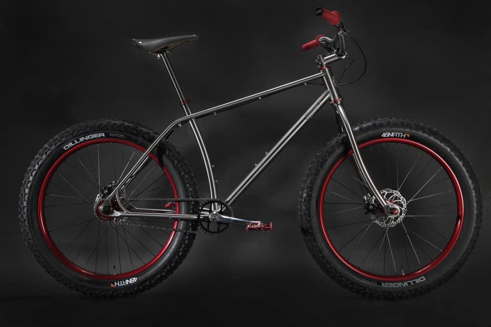 Moonmen #m00 titanium fat bike