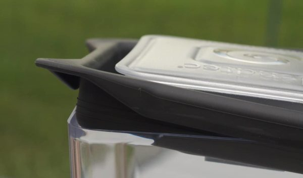 Blendtec gripper lid detail