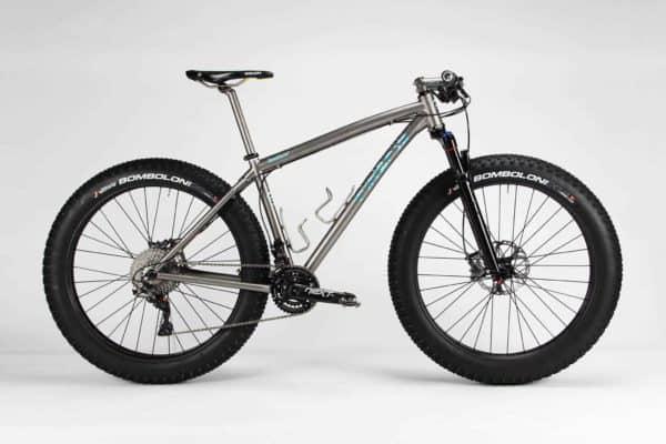2015 Firefly titanium Bomboloni fat bike