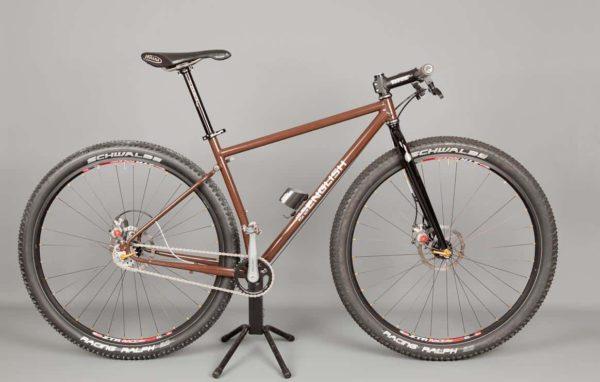 Rob's folding design mountain bike
