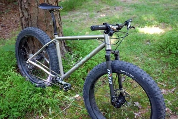 Kish titanium rigid fat bike