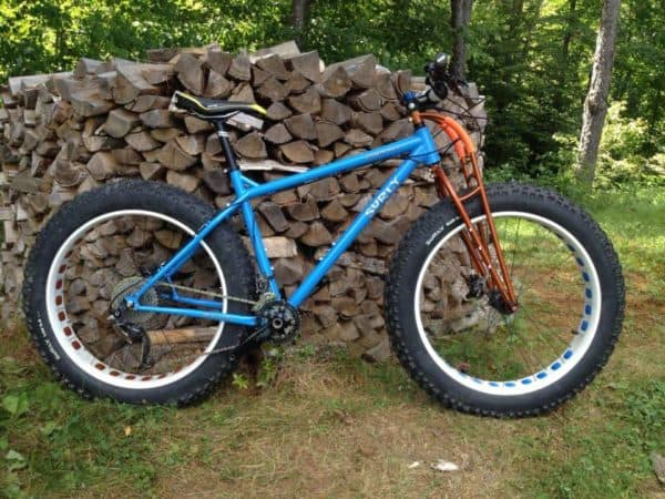 custom truss fork by Graham Cycles