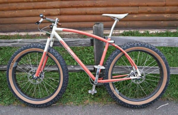 single speed fat bike by Inglis/Retrotec