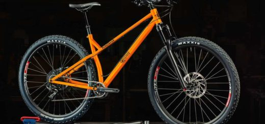2016 Guerrilla Gravity Pedalhead in Safety Third Orange