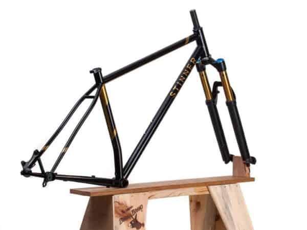 Stinner Frameworks hardtail mountain bike